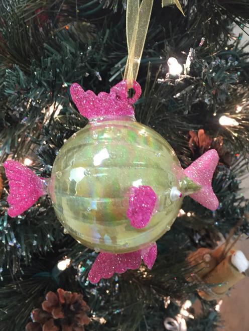 Kissing Fish Christmas Ornament Nautical Seasons