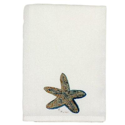 Starfish Guest Towel  Nautical Seasons