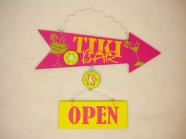 Tiki Bar Open  Nautical Seasons