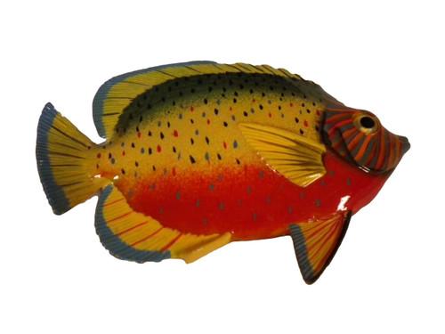 Orange and Yellow Tropical Fish