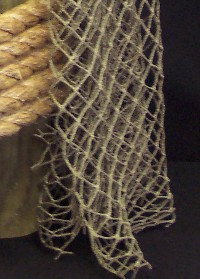 Authentic Used Fishing Net  Nautical Seasons