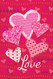 Heart Valentine Flag Nautical Seasons