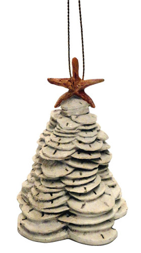 Sand dollar Christmas Tree Nautical Seasons