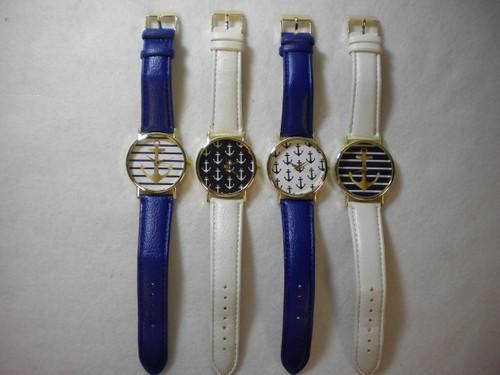 Anchor Fashion Watch Nautical Seasons