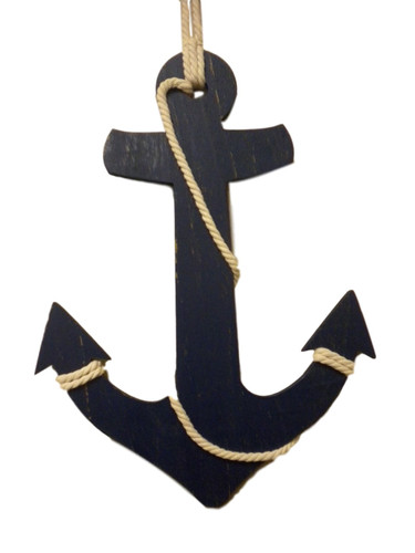 Large Wall Anchor  Nautical Seasons