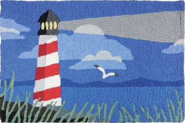 Jellybean Seaside Lighthouse Rug #16116