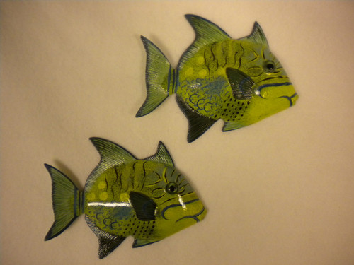 Tropical Fish Pair Nautical Seasons