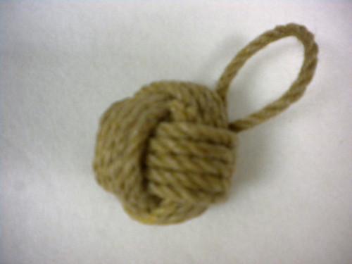 Monkey Fist Knot Ornament Nautical Seasons