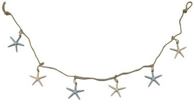 Colorful starfish garland Nautical Seasons