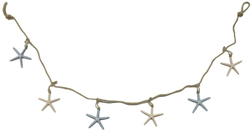 Colorful starfish garland Nautical Seasons
