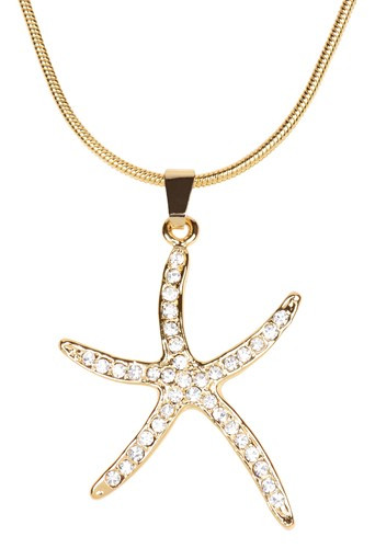 Starfish Necklace  Nautical Seasons