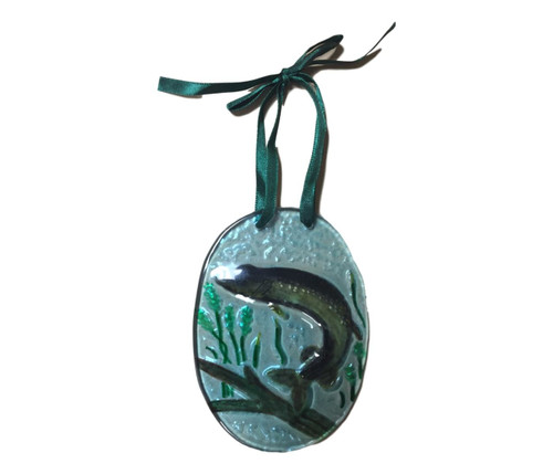 Northern Pike Fish Ornament Nautical Seasons
