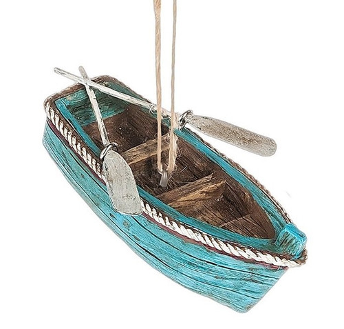 Rowboat With Paddles Christmas Ornament NauticalSeasons