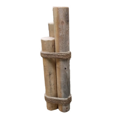 "Piling Pier Post  42"" Tall  Nautical Seasons 866-888-2628"