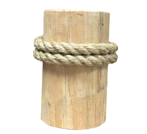 Wide Pier Post With attached Rope Nautical Seasons