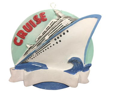 Cruise Christmas Ornament