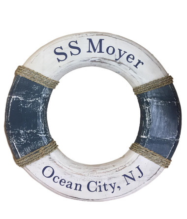 Personalized Life Ring  Nautical Seasons 866-888-2628