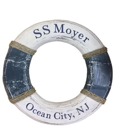 Personalized Life Ring  Nautical Seasons 866-888-2628