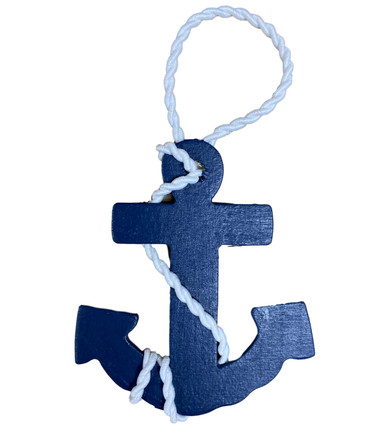 Anchor Ornament  Nautical Seasons 866-888-2628