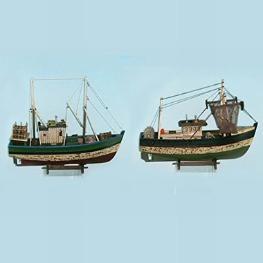 "18"" Model Fishing Boat Choose Style #7524"
