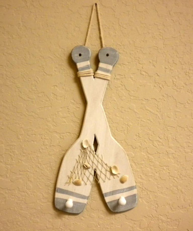 Hanging Paddles With Hooks #2393