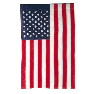USA Flag Garden Flag  12 x 18 Nautical Seasons