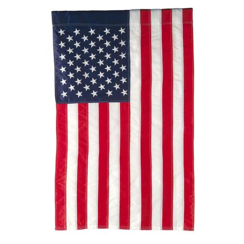 USA Flag Garden Flag  12 x 18 Nautical Seasons