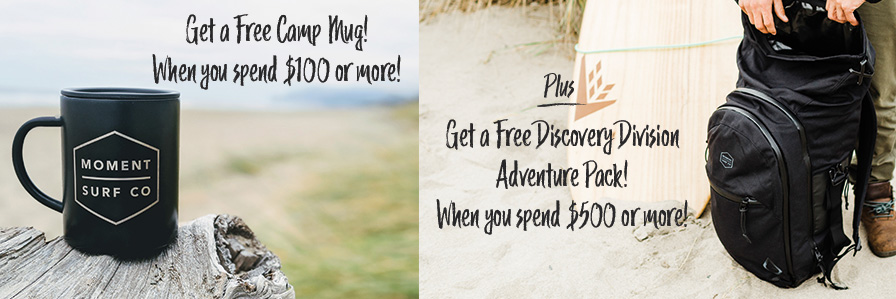 Free Mug And Adventure Pack With Purchase