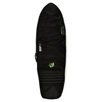 Creatures of Leisure Double Fish Surfboard Bag - Lime Green