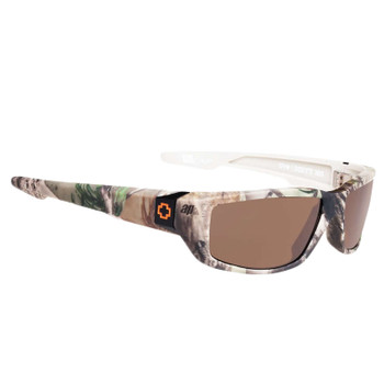 Spy Dirty Mo Sunglasses - Real Tree / Happy Bronze Polarized