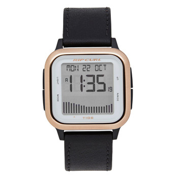 Rip Curl Women's Next Tide Leather Watch - Rose Gold