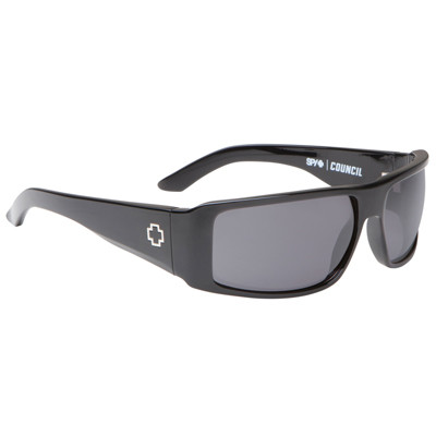 5212c44112 ... Spy Council Sunglasses - Black   Grey. Image 1