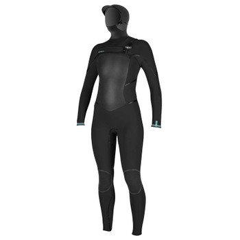 O'Neill Women's Psycho Tech 5/4+ Hooded Wetsuit