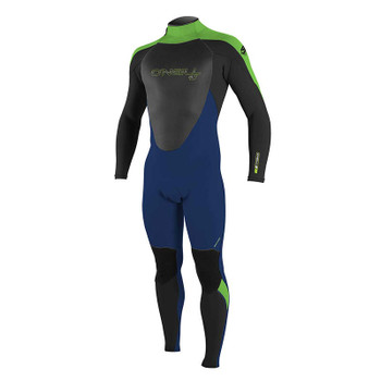 O'Neill Youth Epic 4/3 Wetsuit - Navy / Black / Dayglo