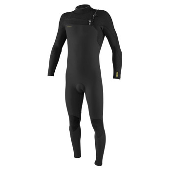 O'Neill Hyperfreak 3/2+ Chest Zip Wetsuit - Raven / Black