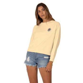 SisstrEvolution Peace Tropic Knit Pullover Tee - Gold