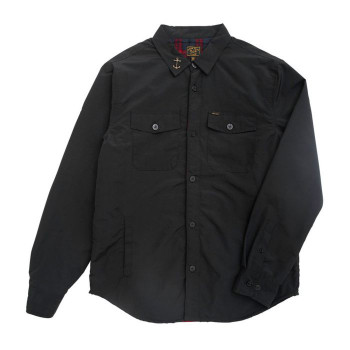 Dark Seas Knuckle Buster Jacket - Black