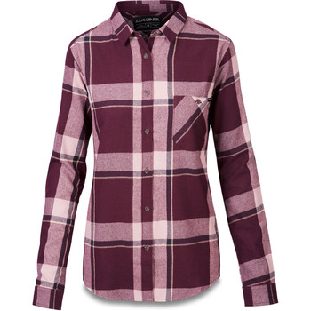 Dakine Senora Flannel Shirt - Plum Shadow