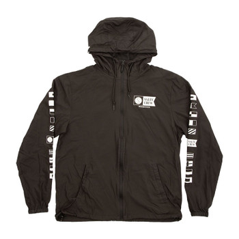 Salty Crew Alpha Windbreaker Jacket - Black