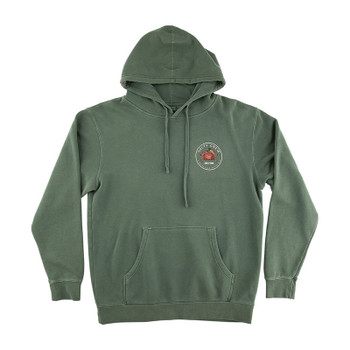 Salty Crew Softshell Overdyed Fleece - Alpine Green
