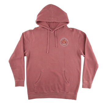 Salty Crew Softshell Overdyed Fleece - Wine