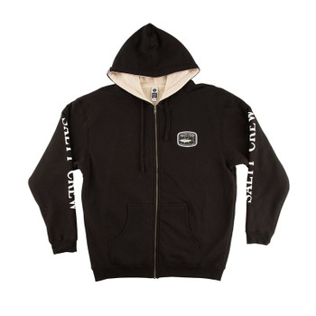 Salty Crew Pacific Sherpa Lined Fleece - Black