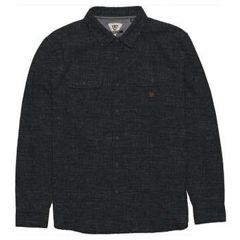 Vissla Isolation L/S Flannel - Black