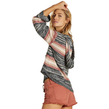 Billabong Baja Beach Sweater - Stone Rose - Side