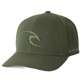 Rip Curl Phase Icon Curve Peak Cap - Dark Olive