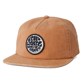 Rip Curl Washed Wettie Snapback Hat - Brown