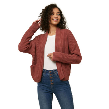 O'Neill Anchor Cardigan Sweater - Mauve