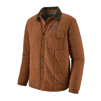 Patagonia Isthmus Quilted Shirt Jacket - Sieu Brown