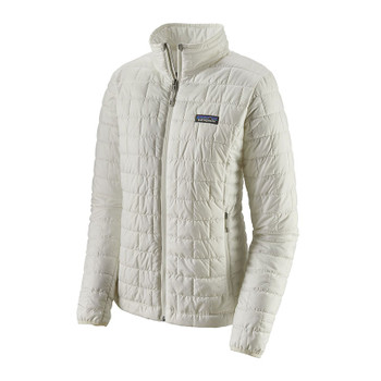 Patagonia Women's Nano Puff Jacket - Birch White - 2