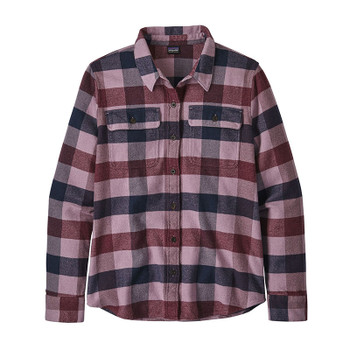 Patagonia Women's L/S Fjord Flannel - Upriver / Light Balsamic
